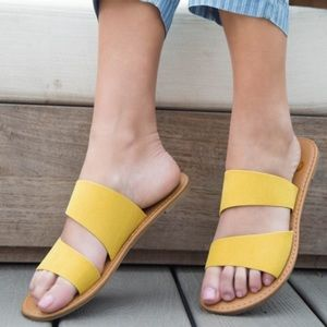 Shoes - YELLOW OH SO COMFORTABLE SLIP ON shoes!